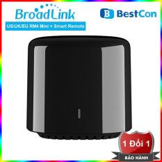 Thiết Bị Điều Khiển Từ Xa Broadlink Rm4 Mini Thông Minh Kết Nối Wifi/Ir/4G – Bộ Điều Khiển Mở Rộng Hồng Ngoại Bestcon RM Mini 3 Cho Nhà Thông Minh – Điều Khiển Mở Rộng Hồng Ngoại Qua Wifi 3G – 4G Phiên Bản Quốc Tế Thế Hệ Mới