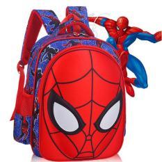 Balo/ Cặp học sinh từ 6 đến 14 tuổi hình siêu nhân nhện (Loại to), Balo đi học cho bé trai cá tính, phong cách, Cap hoc sinh tu 6 den 14 tuoi hinh sieu nhan nhen, Balo di hoc cho be trai ca tinh