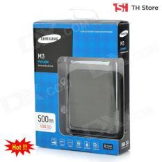 Ổ cứng di động Samsung M3 Portable 500gb USB 3.0 + tặng bao da