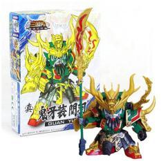 Đồ Chơi Lắp Ráp Mô Hình New4all Gundam Nhân Vật Tướng Tam Quốc Diễn Nghĩa – Quan Vũ