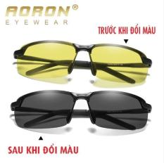 Kính phân cực đi ngày đêm đổi màu AORON A3043 – Kính Mắt Kingshop