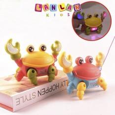 [HN] Con cua di chuyển phát nhạc , đồ chơi giải trí vui nhộn cho bé