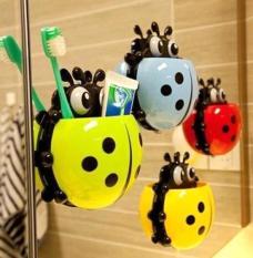Dụng cụ để bàn chải và kem đánh răng hình chú bọ ngộ nghĩnh