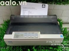 Máy in Kim Epson LQ300+II (24 kim, in khổ A4) Kèm băng mực , dây nguồn , dây USB mới