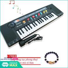 (Tặng kèm vòng tay tỳ hưu) Bộ đàn Organ 27 phím MQ-3700 có Micro dành cho trẻ em – Kmart