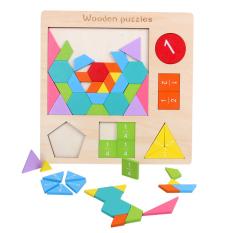 Đồ chơi giáo dục trẻ em mầm non 54 chi tiết giáo dục sớm Montessori