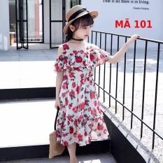Đầm bé gái size từ 12-42 kg, thiết kế thời trang vải mềm mịn cao cấp mặc lên sang trọng