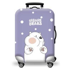 [Lấy mã giảm thêm 30%]Túi bọc bảo vệ vali -Áo vỏ bọc vali – H102 Size S M L HPValiOEM