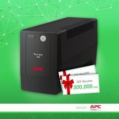 [Khuyến mãi] – Bộ lưu điện: Back-UPS 650VA, 230V, AVR, Universal Sockets – BX650LI-MS – Tặng kèm voucher giá trị