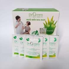Muối rửa mũi Dr Green Nha Đam Hộp 30 Gói Dùng Được Cho Cả Người Lớn Trẻ Nhỏ