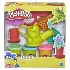 Bộ đồ chơi Hasbro đất nặn dụng cụ làm vườn Play Doh E3564