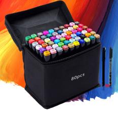 Bút màu TouchCool Marker 30/40/60/80 Màu. Tặng kèm 3 bút da +2 bút line đen trắng , touch cool bút vẽ chuyên nghiệp