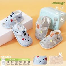 Dép tập đi cho bé Uala rogo 5438 hình chú chuột cực xinh xắn