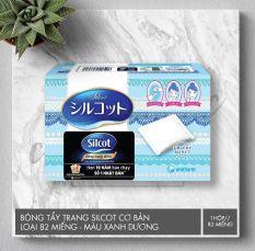 Bông Tẩy Trang Silcot Cơ Bản 82 Miếng Chống Xơ Siêu Mềm Mịn Silcot Velvety Touch Cotton