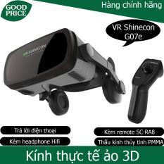 Kính thực tế ảo Vr Shinecon G07E – kèm remote bluetooth Vr Shinecon