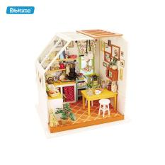 Mô hình lắp ghép gỗ Robotime Nhà bếp của Jasson DG105