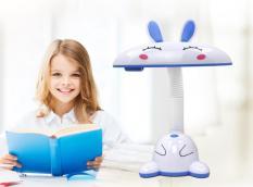 Đèn để bàn, Đèn học chống cận thị cho bé cao cấp an toàn với hình con thỏ,Đèn chống cận thỏ, Mẫu hót 2019 BH Uy tín 12 Tháng tại Cunnie Store.