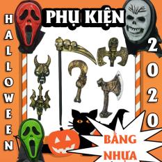 Mặt nạ và phụ kiện hóa trang bằng nhựa halloween 2020, (halowen hay hallowen)