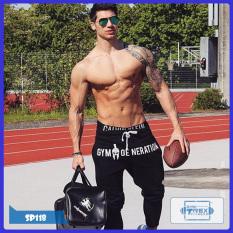 Quần jogger gym nam Sparta T-Rex Shop SP118 – Quần dài thể thao nam (Men Pants,đồ tập quần áo gym, thể dục,thể hình, Fitness)