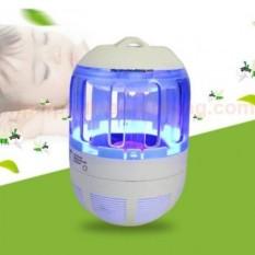 Đèn bắt muỗi diệt côn trùng kiêm đèn LED ngủ thông minh – Đèn bắt muỗi tự động bằng ánh sáng tia UV thân thiện với môi trường không mùi khét, không gây ồn (Bảo hành 12 tháng)