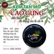 Cao Gừng Tan Mỡ Thiên Nhiên Việt 200g – Có Tem Chống Hàng Giả