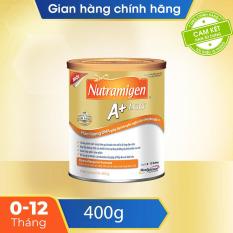 [FREESHIP 30K HCM,HN] Sữa bột cho trẻ dị ứng đạm sữa bò Nutramigen 400g A+ LGG – Cam kết hạn sử dụng còn ít nhất 10 tháng – Chứa đạm thủy phân, DHA, ARA, bổ sung lợi khuẩn