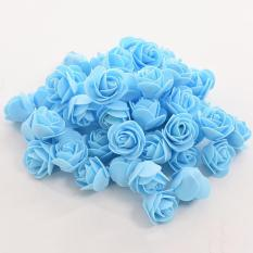 Túi 100 bông hồng xốp kích thước 3,5cm ,nguyên liệu handmade