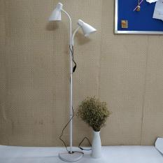 Đèn cây đứng – đèn sàn trang trí nội thất 2 bóng Furnist DC9011 – Tặng kèm 2 bóng đèn LED chuyên dụng