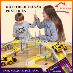 Đồ chơi trẻ em, bộ đồ chơi lắp ghép đường ray oto xe lửa tàu hỏa dễ dàng lắp ráp, giá siêu rẻ, nhiều chi tiết… hấp dẫn kích thích trí thông minh trẻ,bảo hành 3 tháng, lỗi đổi mới trong vòng 7 ngày đầu nhận hàng
