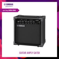 Amply Guitar Yamaha GA15II – Thiết kế gọn nhẹ, có 2 kênh Clean và Drive riêng biệt, hệ thống Loa Full Range 15W 16cm, 3 band EQ – Bảo hành chính hãng 12 tháng