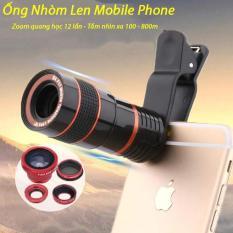 Ống nhóm mini, Ống nhòm cho điện thoại Ống nhòm Len Mobile Phone giúp điện thoại chụp ảnh từ xa siêu nét, hình ảnh chất lượng