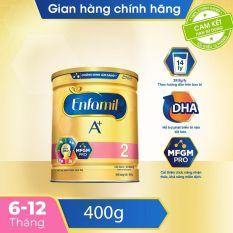 [FREESHIP TOÀN QUỐC]Sữa bột Enfamil 2 cho trẻ từ 6-12 tháng tuổi (400g) – Cam kết HSD còn ít nhất 10 tháng