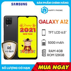 Điện Thoại Samsung Galaxy A12 (128GB/4GB) – Hàng chính hãng, mới 100%, Nguyên seal, Bảo hành 12 tháng