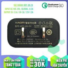 Củ sạc nhanh Quick Charge 3.0 sử dụng cho các dòng máy Xiaomi MDY-08-EH 5V/2.5A – 9V/2A