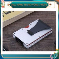 Thời trang mới nhất Chặn RFID mỏng Kẹp tiền Ví kinh doanh Người giữ thẻ tín dụng Mỏng tối thiểu