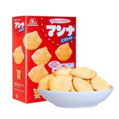 Bánh Quy Ăn Dặm Hình Thú Morinaga Nhật Bản, Bánh quy mặt cười (T12/2021)