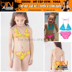 Đồ Bơi Bé Gái 2 Mảnh Tam Gíac Dễ Thương Nhiều Màu Đáng Yêu Size Từ 10kg Đến 30kg Bin Sports BB012