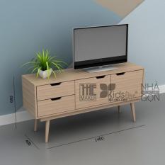 Kệ tivi TheMaker CS17 Vân gỗ nhạt