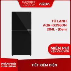 Tủ lạnh AQUA AQR-IG296DN 284L ( Đen ) – Hàng phân phối chính hãng