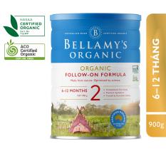 Sữa Công Thức Hữu Cơ Bước 2 Bellamy's Organic