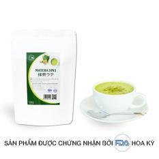 Trà matcha Nhật 3in1 (trà xanh sữa) – GreenD Food – 500g