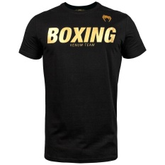 Áo Venum Boxing VT – Black/Gold