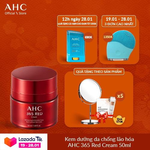[Tết Campaign] Kem Dưỡng Chống Lão Hoá AHC 365 Red 50ml