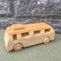 [VIDEO SP THẬT] Xe buýt Xe Bus đồ chơi gỗ an toàn cho bé hàng xuất khẩu