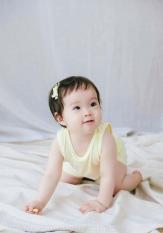 Bộ quần áo gỗ sồi / bộ sợi Modal kháng khuẩn, bộ Easy Wear ngắn tay mặc nhà cho bé Rabity 90057.90156 (bé trai/bé gái)