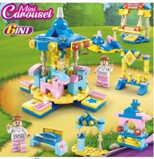 Đồ Chơi lego cho Bé Gái khu vườn cổ tích, công viên tuổi thơ, thành phố vui nhộn –HIEUCLOCK