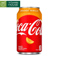 Coca-Cola Orange Vanilla 355ml – Coca cola vị cam vani