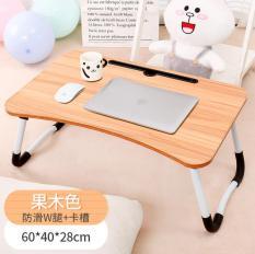 Bàn Laptop Thông Minh Có Khe Cắm Đựng Ipad Đa Năng Gấp Gọn Ban Laptop Ban Go JJ0601
