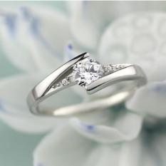 Nhẫn bạc nữ , nhẫn nữ cá tính ,nhẫn bạc nữ giá rẻ đính đá phong cách Hàn Quốc