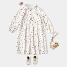 Váy Cho Bé Gái 2 Màu Dáng Xòe Xinh Xắn